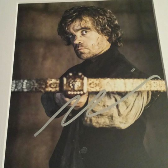 Tyrion Signed